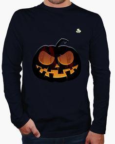 Camiseta Halloween · Pumpkin Camiseta hombre manga larga  19,90 € - ¡Envío…