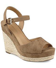 cea3e41cc Tommy Hilfiger Kali Platform Espadrille Wedge Sandals   Reviews - Sandals   Flip  Flops - Shoes - Macy s. Women s ...