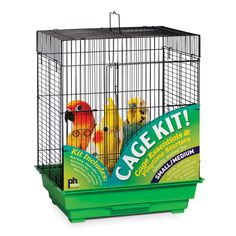 Prevue Pet Products Square Top Bird Cage Kit - 91210