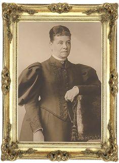 Rosalie Luise Freiin von Beust. Gemahlin von Karl von Baden, Bruder von Friedrich I. des sechsten Grossherzogs von Baden. 1845-1908.