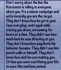 Narcissistic Truths For more narc recovery~ Please like us https://www.facebook.com/thelostself