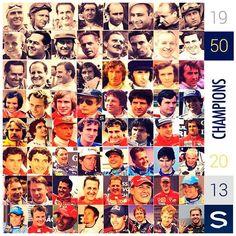 pi Los Campeones del Mundo 1950 - 2013 .