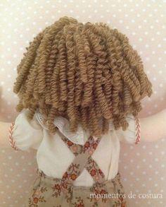 1 million+ Stunning Free Images to Use Anywhere Felt Dolls, Crochet Dolls, Crochet Hats, Doll Wigs, Doll Hair, Yarn Wig, Doll Making Tutorials, Crochet Snowflakes, Fabric Toys