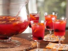 Hibiscus Tea Punch Recipe courtesy Bobby Flay Show: Brunch at Bobby's Tea Punch Recipe, Punch Recipes, Cooking Channel Shows, Three Ingredient Recipes, Tea Cocktails, Spring Cocktails, Iced Tea Recipes, Drink Recipes, Tea Smoothies