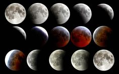 Awesome photos of Sunday night's rare super blood moon eclipse — there won't be another one until 2033 Lunar Eclipse Live, Blood Moon Eclipse, Total Eclipse, Dark Moon, Blue Moon, Eclipse Totale, Moon Photography, Photography Tips, Tattoos