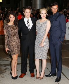 Great shoes Connor! At TIFF 2012 with the Rising Stars!