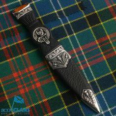 Clan Crest Sgian Dubh