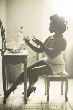 One Beautiful example of Black Femininity