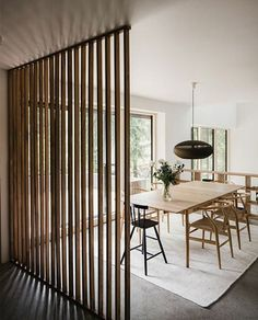 There are multiple ways of dividing a room, from panels to doors or even curtains. Although open spaces are trendy, sometimes you need some privacy or you want to clearly separate areas. My favorit…