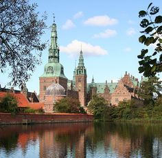 Renaissance-styled Frederiksborg Palace completed by Hans van Steenwinckel the Younger in 1620