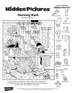 collection of free printable hidden picture worksheets bloggakuten - Printable Hidden Pictures For Kids