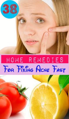 38 Home Remedies for Fixing Acne Fast
