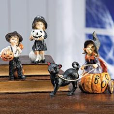 Pumpkins Figurines