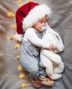 Ideas For Baby Boy Newborn Pictures Ideas Photo Shoots So Cute Baby, Baby Love, Foto Baby, Pregnancy Gifts, Babies First Christmas, 1st Christmas, Christmas Ideas, Baby Girl Christmas, Christmas Cookies