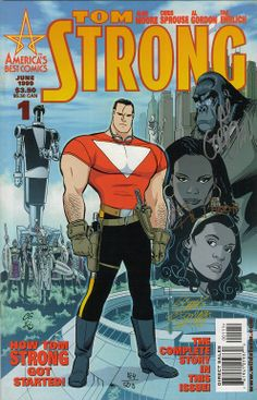 tom strong | 4ColorHeroes:Signed Alan Moore Comics