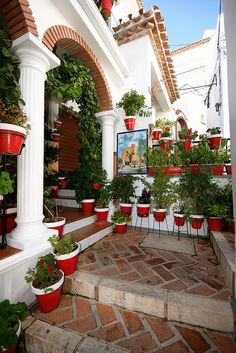 Decorative entry in Mijas ~ Andalusia, Spain • photo: Andy Coe on Flickr