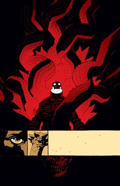 BPRD Black Flame #06 by Mike Mignola