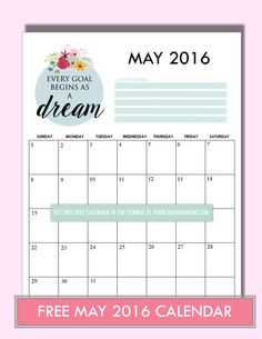 printable may 2015 calendars