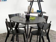 FAGERSTRÖM Bord 110 Svart - Bord i svart lack. Lack, Dining Table, Furniture, Home Decor, Decoration Home, Room Decor, Dinner Table, Home Furnishings, Dining Room Table