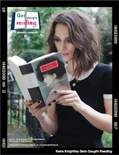 "Free ""Get Caught Reading"" celebrity posters ($5 shipping and handling)"