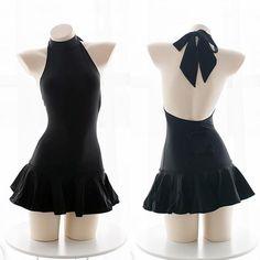 Cute Sexy Bow Swimsuit Dress SE20313 – SANRENSE
