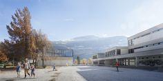 SCHOOL EXTENSION I SWITZERLAND I 2016 Day - EF Architectes -School