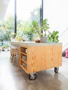 Plywood Furniture, Kitchen Furniture, Kitchen Interior, New Kitchen, Diy Furniture, Kitchen Decor, Furniture Design, Küchen Design, House Design