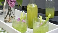Kitchen Stories, Fun Drinks, Cantaloupe, Mojito, Smoothies, Remedies, Food And Drink, Gluten Free, Ice Cream
