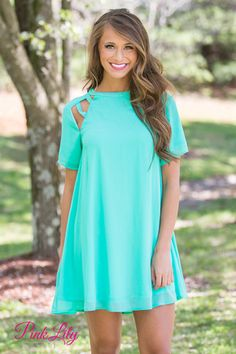 Break The Ice Dress Mint