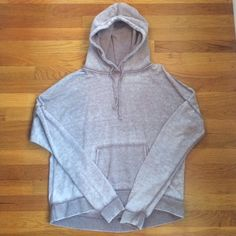 Grey Sweatshirt Comfy grey sweater worn over the years! Great to lounge around in! No flaws! Good Condition! Forever 21 Sweaters