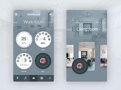 Smart home prototype design by Artem Osetrov