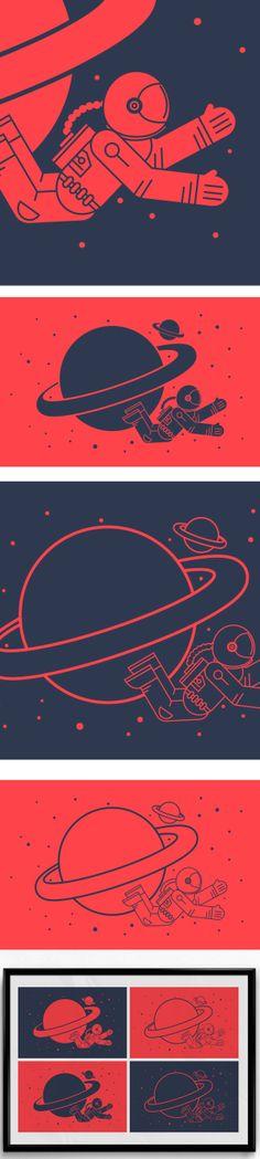 Astro by Luigi Russo, via Behance