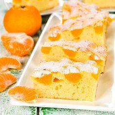 Versunkener Low Carb Mandarinenkuchen