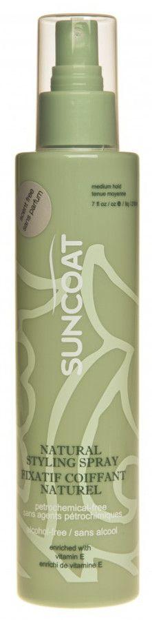 Suncoat Hair Spray - Fragrance Free - 210ml - Suncoat