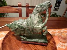 MAJESTIC ASIAN HORSE/////Vintage Chinese by AlmostHomeMemories, $155.00