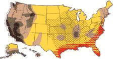 US Disaster Statistics - woohoo, extreme tornadoes and high earthquake, wtg West Tennessee!! ;)