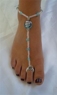 FOOT SANDALS BEACH JEWELRY