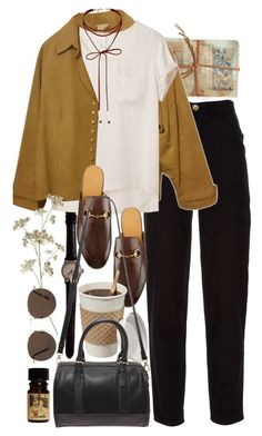 """""""Untitled #9649"""" by nikka-phillips ❤ liked on Polyvore featuring GO Home Ltd., Chanel, MANGO, Coldwater Creek, rag & bone, Gucci, Miss Selfridge, Forever 21 and plus size clothing"""