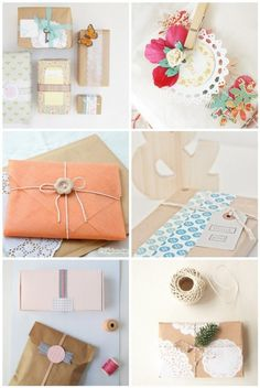 DIY - Bright and Beautiful Gift Packaging