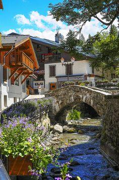 Summertime in Megève, Haute-Savoie, France (by V.Charvet )