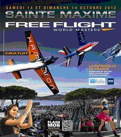 13 - 14 October - Free Flight World Masters 2012    http://www.sainte-maxime.com/fr/sejour/VOLTIGE-AERIENNE,1828.html