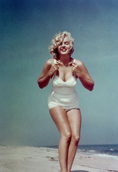 Marilyn Monroe Summer Beach