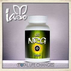 Iaso™ NRG Energy Builder, fat burner and appetite suppressant. Ingredients: Caffeine, keeps you alert; Chromium, directly involved in carbohydrate,fat, and protein metabolism; Calcium, strengthens bones and teeth; Magnesium, better sleep, loosens tight muscles;Zinc, control of diabetes, reduction of stress; B-6, Metabolism.
