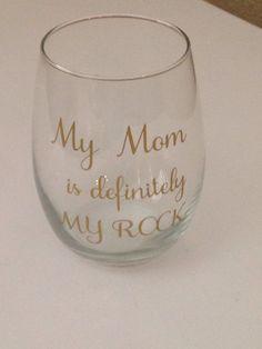 Items Similar To Mothers Day Gift Moms Wine Glass Retirement Stepmom Godmothers Grandmas Birthday