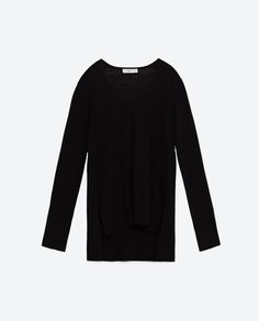 V-NECK SWEATER-KNITWEAR-WOMAN-COLLECTION AW16 | ZARA United States