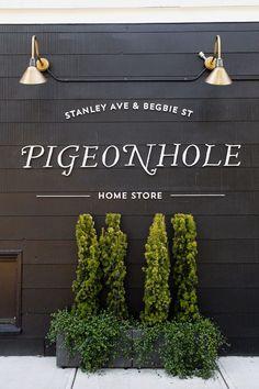INTERIORS: PIGEONHOLE HOME STORE
