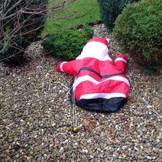 Go home Santa you are drunk!