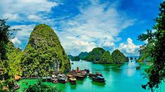 This tour of Vietnam visits Hanoi and Ho Chi Minh City, with an overnight cruise on picturesque Halong Bay; airfare is included Visit Thailand, Thailand Travel, Asia Travel, Thailand Tourism, Travel Route, Puerto Princesa, Lonely Planet, Rome, Ha Long Bay