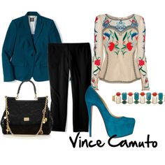 """""""Shine on the Job with Vince Camuto"""" by shellytot on Polyvore"""