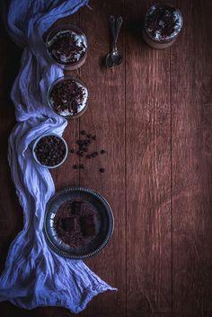 Irish Coffee & Chocolate Panna Cotta | Jet & Indigo